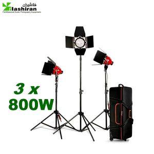 555 300x300 - کیت فلات (نور) ۸۰۰ وات دیمر دار