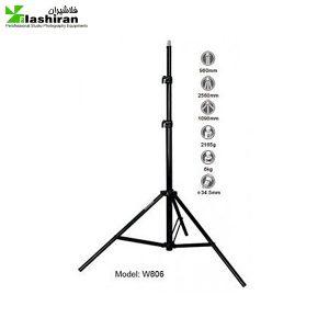 Light Stand W 806 2 300x300 - پایه نور Light Stand W-806 (بادی) S&S