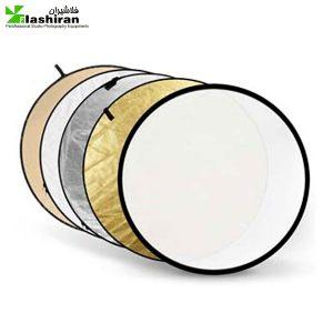 Reflector 3 300x300 - رفلکتور تلفیقی دسته دار پنج کاره ۸۰ سانتی متر Reflector handles 5 in 1