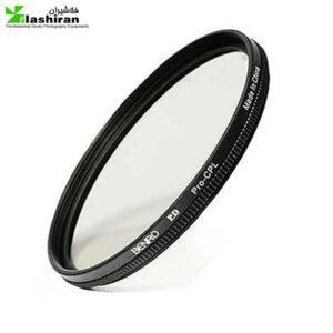 filter 2 300x300 - فیلتر عکاسی بنرو Benro Pro CPL 58mm