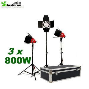 kit 234 300x300 - کیت فلات (نور) ۸۰۰ وات دیمر دار