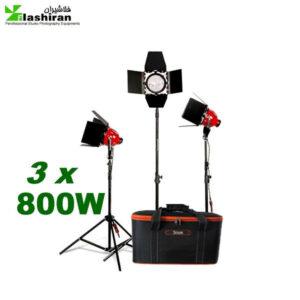 kit 800 3 300x300 - کیت فلات (نور) ۸۰۰ وات دیمر دار