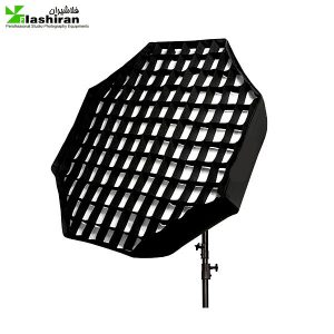 octabox 4 2 300x300 - اکتاباکس زنبوری ۱۲۰ سانتی Octa softbox Grid