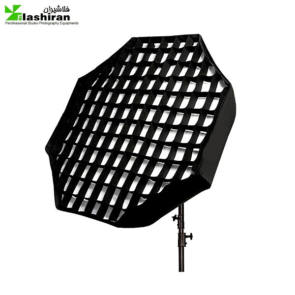 octabox 4 2 600x600 - اکتاباکس زنبوری ۶۰ سانتی Octa softbox Grid