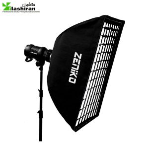 softbox 300x300 - سافت‌باکس مربع 50×50 زنبوری Softbox with Grid