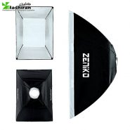 softbox2 185x185 - سافت‌باکس مربع 50×50 زنبوری Softbox with Grid