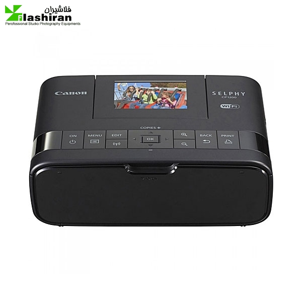 پرینتر چاپ عکس بی سیم کانن مدل Canon SELPHY CP1200 | Canon Wireless Photo Printer SELPHY CP1200