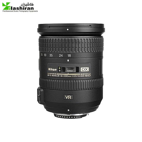 لنز نیکون مدل AF-S DX NIKKOR 18-200mm f/3.5-5.6G ED VR II   Nikon AF-S DX NIKKOR 18-200mm f/3.5-5.6G ED VR II Lens