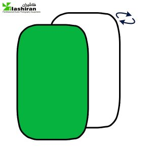 Portable Background 1 300x300 - بکگراند پرتابل سفید و سبز  Portable Back 1.5 ⨯ 2m