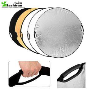 Reflector handles 5 in 1 1 300x300 - رفلکتور دسته دار پنج کاره ۸۰ سانتی متر Reflector handles 5 in 1