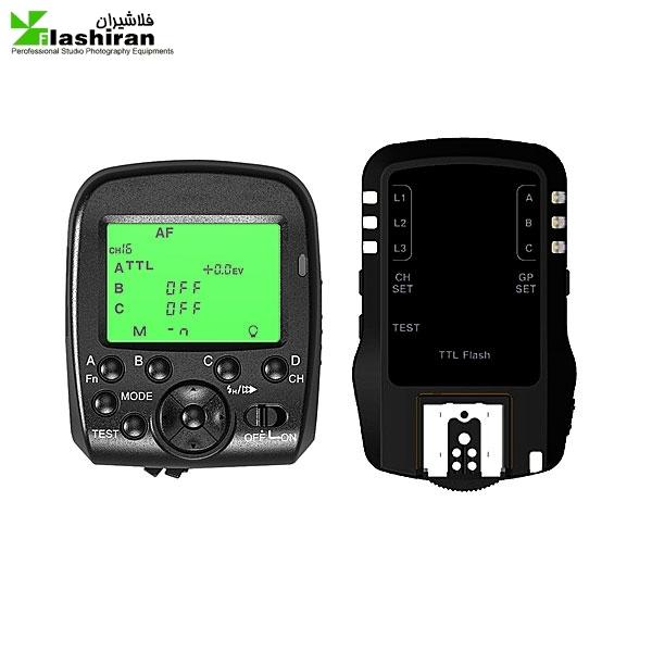 tr 800 g1 600x600 - تریگر فرستنده و گیرنده TRIOPO Dual TTL Wireless Trigger