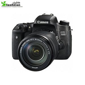Canon EOS 760D + 18-135 IS STM کارکرده