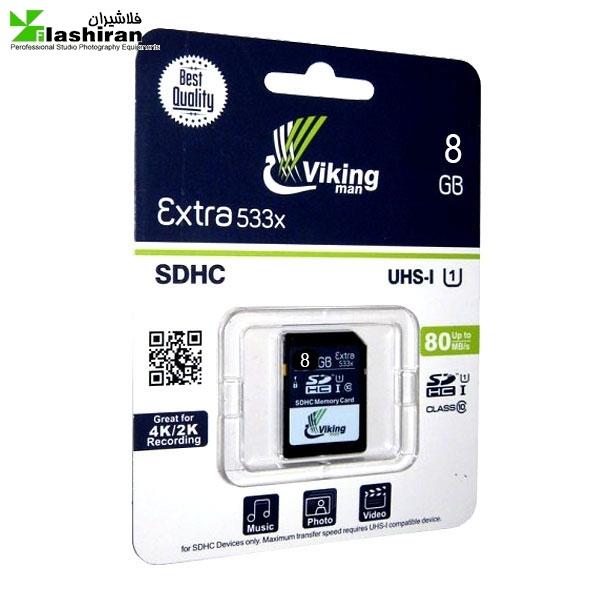 viking man8 600x600 - VIKING MAN 8GB SDHC UHS-I U1 EXTRA 533X