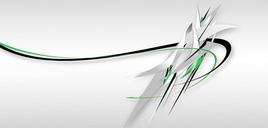 Colored curved lines abstract background vector 01 - فروشگاه فلاشیران