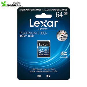 lexar sd 64 300x300 - LEXAR 64GB SDHC 300x
