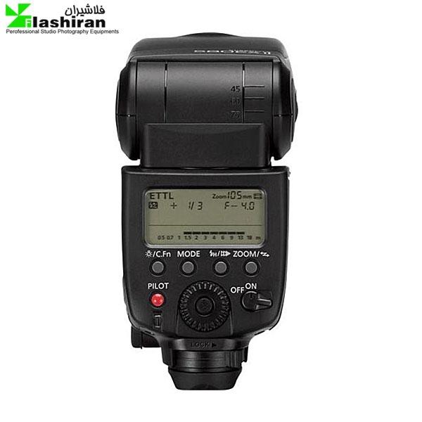 Canon Speedlite 580EX II 2 600x600 - فلاش Canon Speedlite 580EX II کارکرده