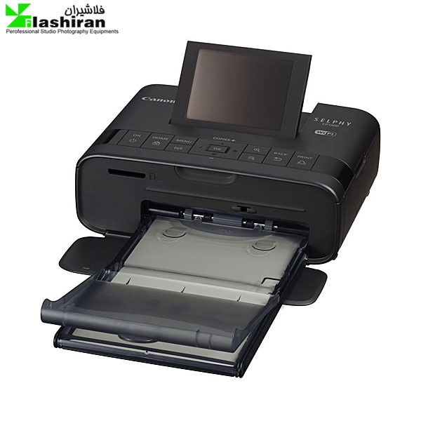 canon selphy cp1300 1 600x600 - پرینتر حرارتی Canon SELPHY CP1300 Wireless به همراه کاغذ چاپ عکس ۵۴ عددی