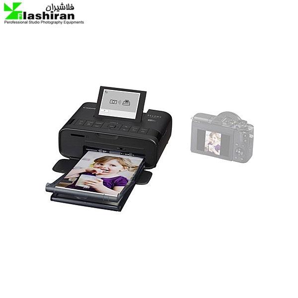 canon selphy cp1300 2 600x600 - پرینتر حرارتی Canon SELPHY CP1300 Wireless به همراه کاغذ چاپ عکس ۵۴ عددی