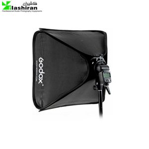 godox 24 x24 60cmx60cm portable collapsible softbox kit for camera photography studio flash fit bowens elinchrom mount 300x300 - کیت سافت باکس فلاش اکسترنال  SOFTBOX KIT ۵۰×۵۰ Godox کارکرده