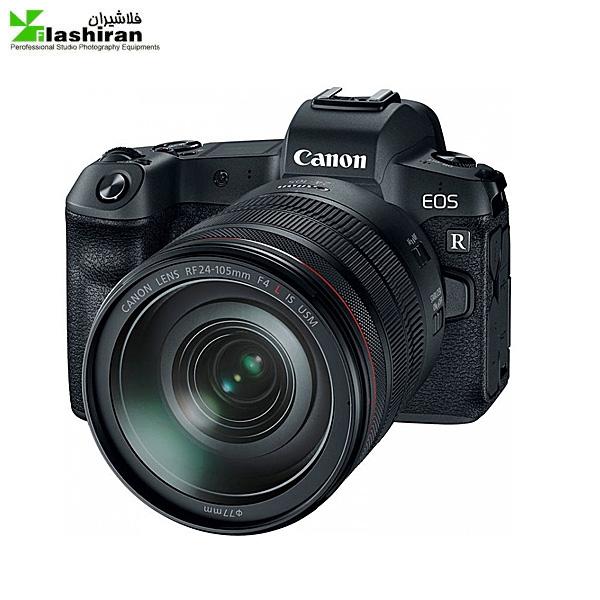 Canon EOS R 2 600x600 - Canon EOS R Mirrorless با لنز mm 24-105دارای مانت و اداپتور