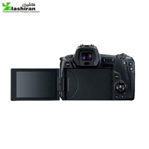 Canon EOS R Mirrorless با لنز mm 24-105دارای مانت و اداپتور