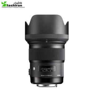 لنز سیگما nikon sigma 50mm f/1 4 DG  ART کارکرده