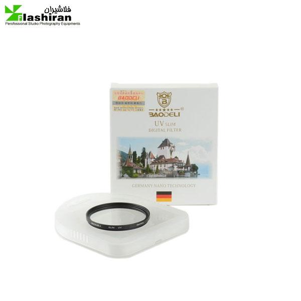 فیلتر لنز بائودلی Baodeli UV slim 77 mm