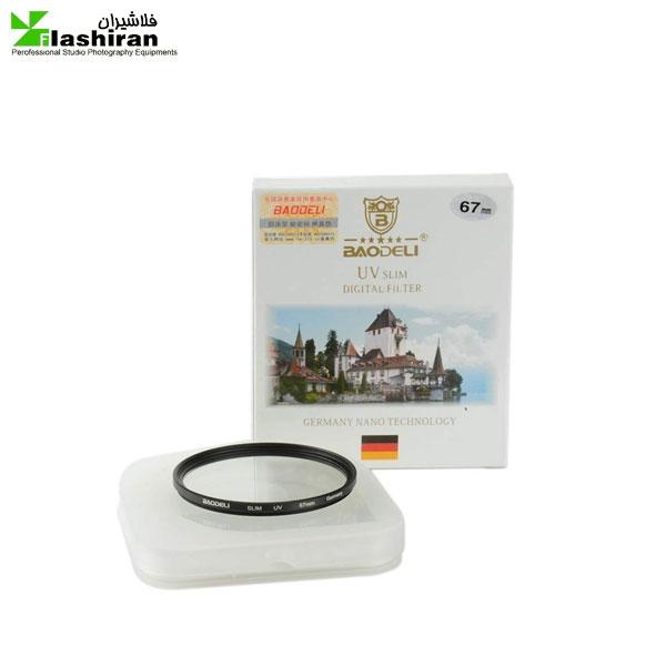 67 eslim 600x600 - فیلتر لنز بائودلی Baodeli UV slim 67 mm