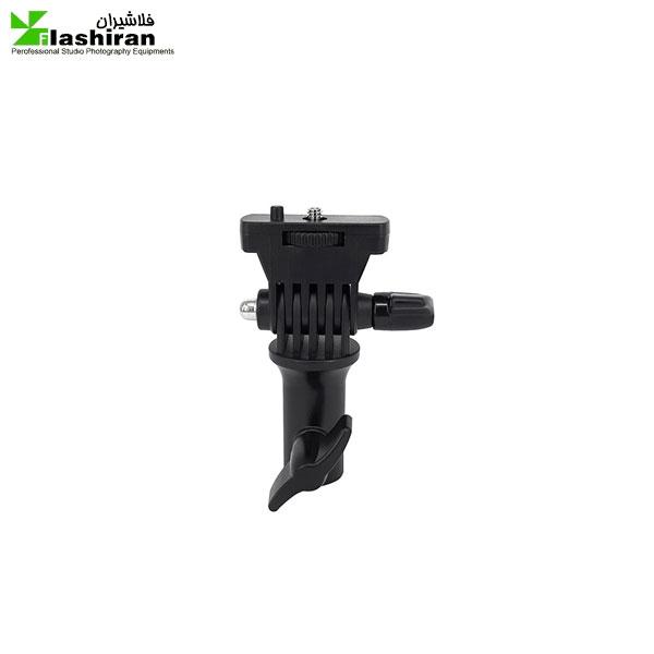 holder 600x600 - هولدر اتصال پیچ 1/4 اینچ برای سه پایه فلات