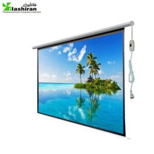 parde namayesh3 300x300 - پرده نمایش برقی پروژکتور اسکوپ پارچه عالی سایز ۱۸۰×۱۸۰