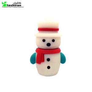snow man 1 300x300 - فلش مموری فانتزی کینگ فست ۱۶ گیگ مدل آدم برفی