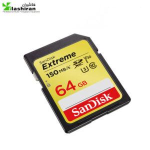 کارت حافظه با گارانتی SANDISK 64G 150MBps