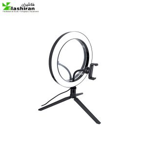 ring10 300x300 - رینگ لایت  رومیزی ۱۰ اینچ  ایینه دار  بدون سه پایه