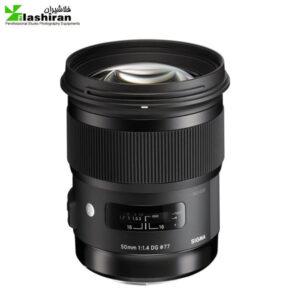 لنز سیگما Sigma 50mm f/1.4 DG HSM Art for Canon