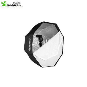 اکتاباکس چتری گودکس ۱۲۰ سانت مدل octagon softbox umbrella brolly reflector