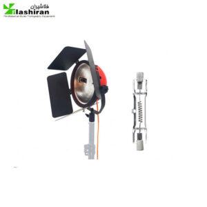 فلات (نور) ۸۰۰ وات همراه لامپ کارکرده