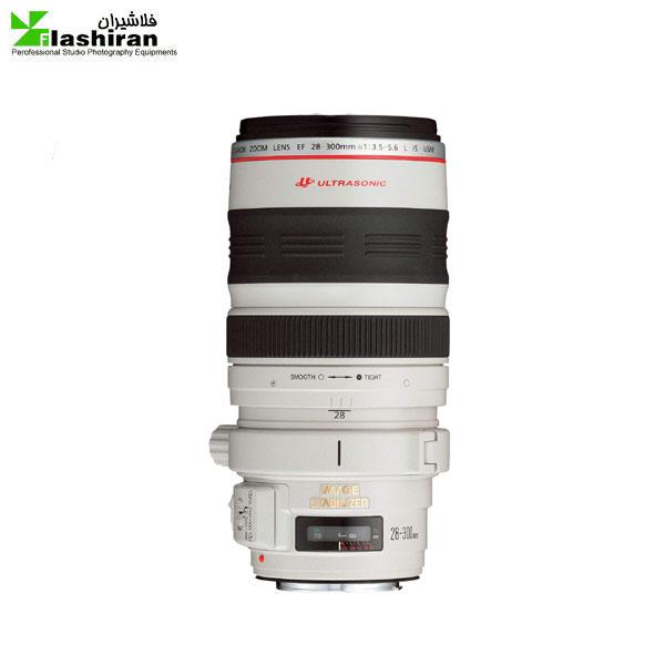 لنز دوربین کانن مدل EF 28-300mm f/3.5-5.6L IS USM کارکرده