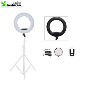 رینگ لایت عکاسی Ring light FS 480II  دارای سه پایه