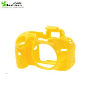 محافظ ژله ای زرد دوربین عکاسی  مدل Nikon D5600