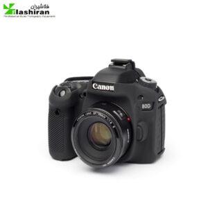 محافظ ژله ای دوربین عکاسی مشکی کانن مدل Canon 80D