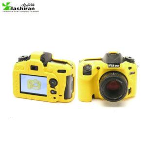 محافظ ژله ای زرد دوربین عکاسی  مدل Nikon 7100-7200