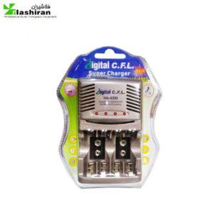 شارژر باتری های قلمی نیم قلمی کتابی HA-4302  C.F.L