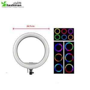 رینگ لایت YQ-310 RGB RING LIGHT