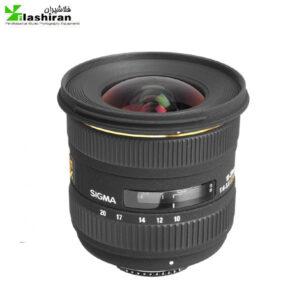 لنز سیگما Sigma 10-20mm F4-5.6 EX DC HSM for nikon Sigma  کارکرده