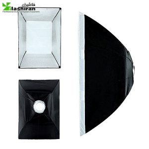 نور فلات SMD گرد مدل  ts-020 answer به همراه سافت باکس 50×70